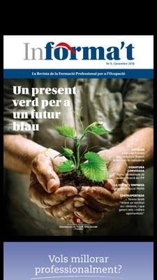 """La revista """"INFORMA'T"""" dedica un article a la formació impulsada pels grups Leader."""