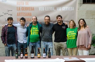 La Ruta de la Cervesa Artesana de Lleida amplia el seu abast i es consolida com a actiu d'impuls turístic i socioeconòmic del territori.