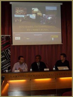 La Sostenibilitat Empresarial es promou al Solsonès.