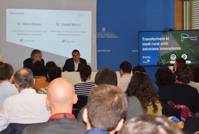 La transformació digital del medi rural amb solucions innovadores, objectiu de la nova edició de l'SmartCatalonia Challenge  .