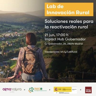 Lab d'Innovació Rural. Solucions reals per a la reactivació rural  .