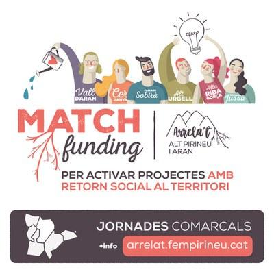 """Primera campanya de matchfunding """"Arrela't Alt Pirineu i Aran""""."""