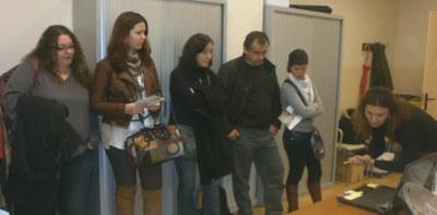 Representants d'Andalusia del  projecte EMPLOJET visiten ARCA i el Consorci per al Desenvolupament de la Catalunya Central.