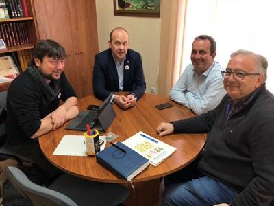 """Representants d'ARCA visiten el """"Consorci per al Desenvolupament del Baix Ebre i Montsià""""  ."""