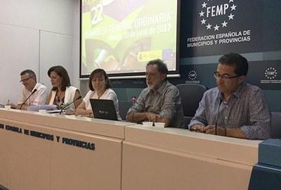 Representants de Grups d'Acció Local i Xarxes Territorials de tot Espanya van participar ahir a l'Assemblea General de la ReDR.