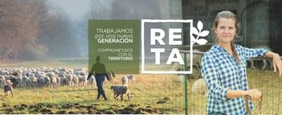 RETA. Continuem treballant per una nova generació d'agricultors i agricultores compromeses amb el territori.
