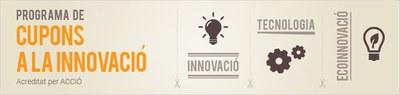"""S'obre la convocatòria del """"Programa de Cupons a la Innovació""""."""