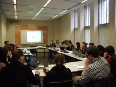 Sessió formativa a Barcelona per als tècnics de RSE dels grups d'acció local catalans.