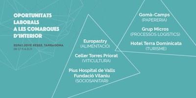 Sis empreses presenten als joves de Tarragona el potencial laboral de les comarques d'interior.