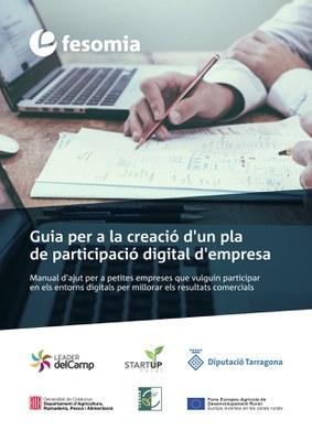 """""""Start Up Rural"""" publica la """"Guia per a la creació d'un pla de participació digital d'empresa""""."""