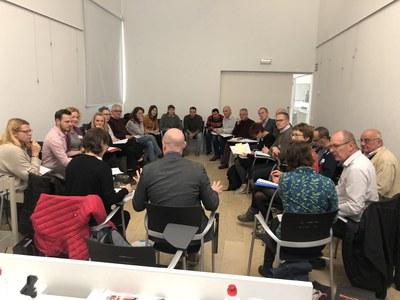 """Trobada del projecte transnacional """"CoLabora"""" per impulsar el coworking rural  a altres regions de la Unió Europea."""