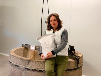 Maria Costa Ferrer, impulsora del projecte 'L'Escairador' i beneficiaria del programa Leader.