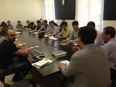 Una delegació del Ministeri d'Agricultura de Corea del Sud s'interessa per la implementació del programa Leader a Catalunya.