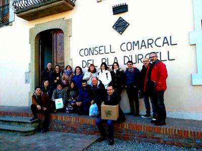 Una delegació del territori basc de Gorbeia visita Catalunya per conèixer nous models de desenvolupament rural.