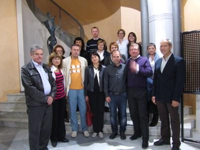Una representació dels Grups d'Acció Local de Lituània visita Catalunya.