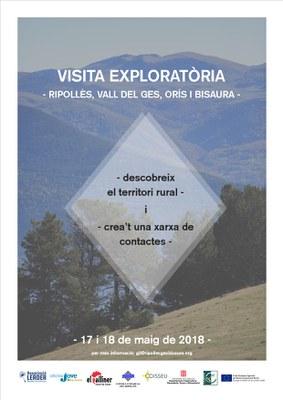 Visita Exploratòria al Ripollès, Vall del Ges, Orís i Bisaura.