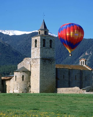Santa Maria de Talló – Talló, Bellver de Cerdanya (Consell Comarcal de la Cerdanya).