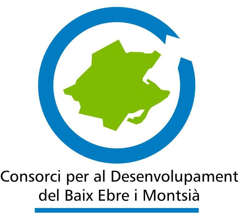 logo Consorci per al Desenvolupament del Baix Ebre i Montsià.
