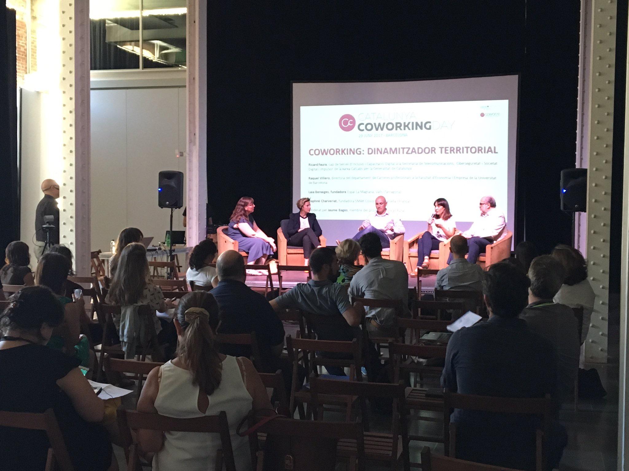 """""""Coworking Day"""" 2017 (Consorci Intercomarcal d'Iniciatives Socioeconòmiques Ribera d'Ebre – Terra Alta)"""